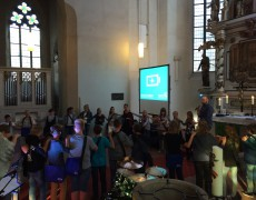 Konfibegrüßungsgottesdienst in Haldensleben gefeiert.