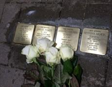 Stolpersteine putzen – unsere Aktion der Jungen Gemeinde Süd aus Niederndodeleben
