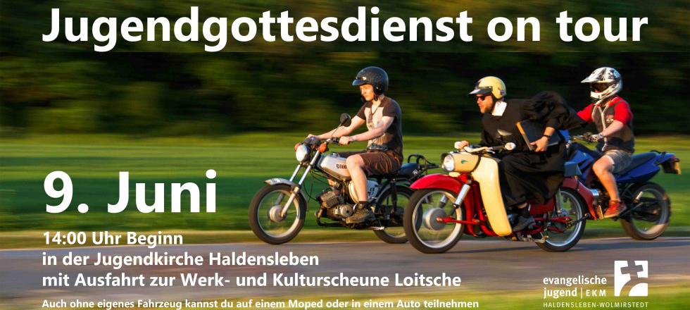 Jugendgottesdienst on tour